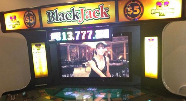 Shuffle master video blackjack machines